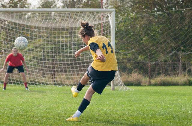 Goal Power Coaching - Girls shooting