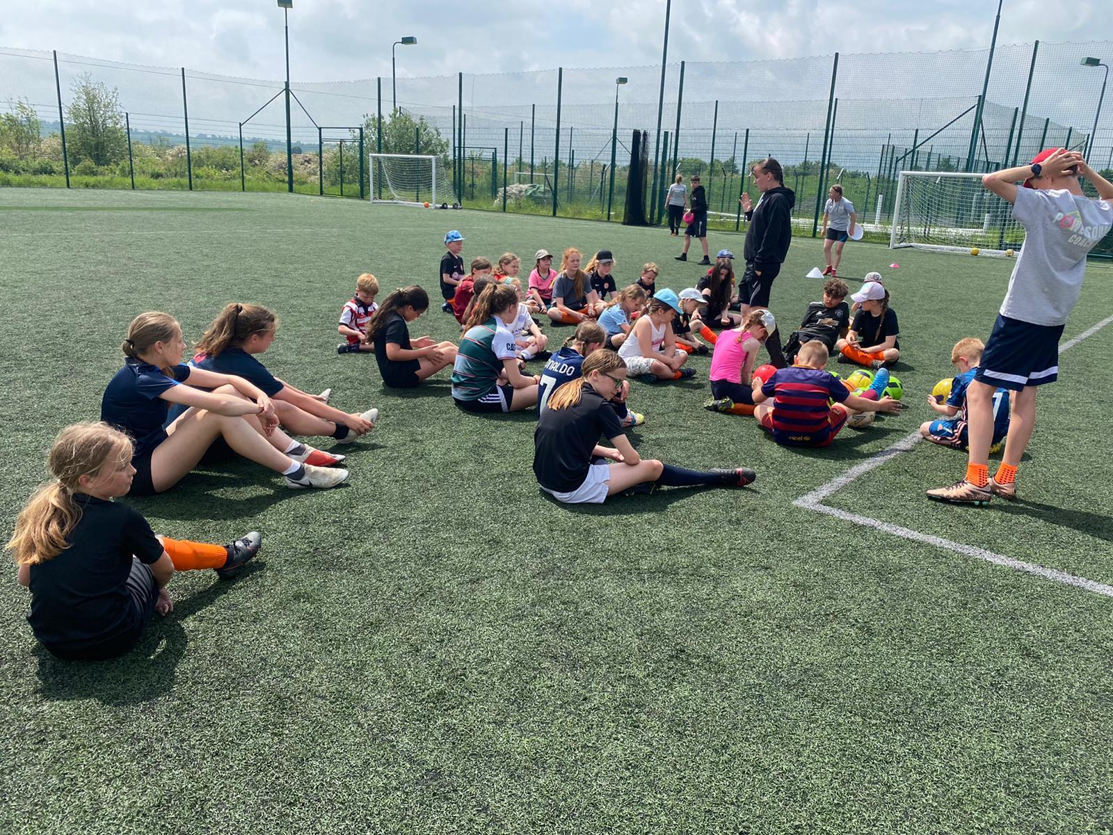 School holiday club in Rugby, Warwickshire